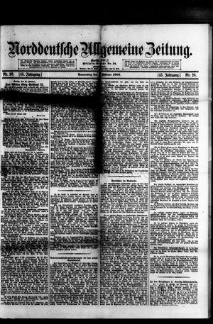 Norddeutsche allgemeine Zeitung on Feb 1, 1906