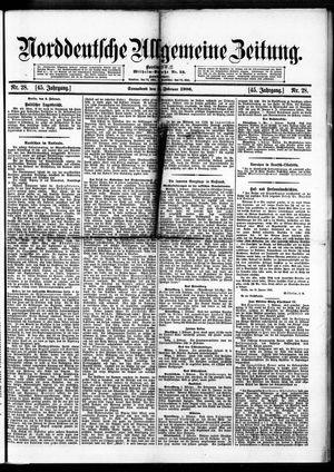Norddeutsche allgemeine Zeitung vom 03.02.1906