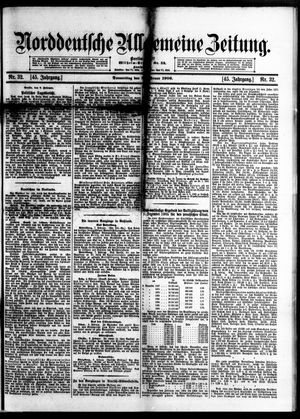 Norddeutsche allgemeine Zeitung on Feb 8, 1906