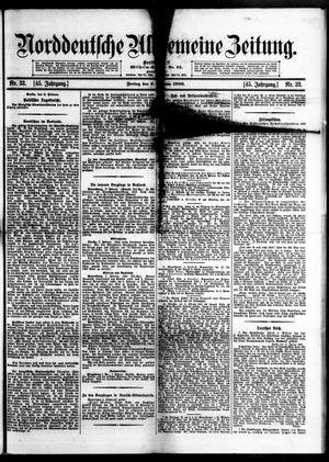 Norddeutsche allgemeine Zeitung vom 09.02.1906