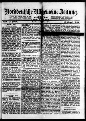 Norddeutsche allgemeine Zeitung vom 10.02.1906