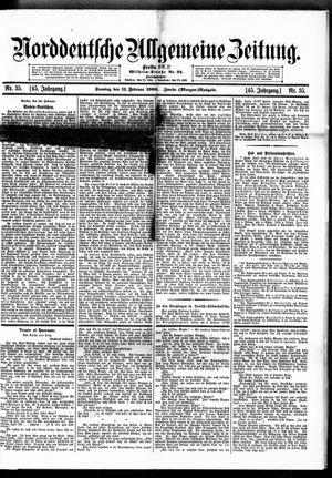 Norddeutsche allgemeine Zeitung vom 11.02.1906