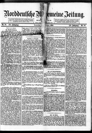 Norddeutsche allgemeine Zeitung vom 15.02.1906