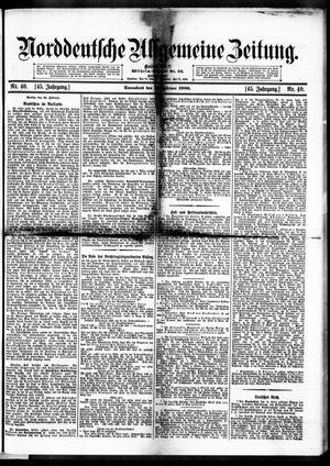 Norddeutsche allgemeine Zeitung vom 17.02.1906