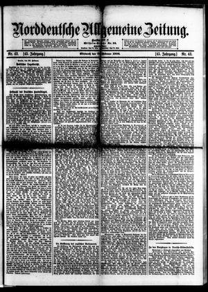 Norddeutsche allgemeine Zeitung vom 21.02.1906