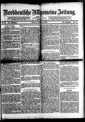 Norddeutsche allgemeine Zeitung vom 23.02.1906