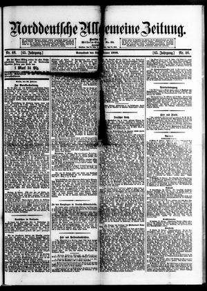 Norddeutsche allgemeine Zeitung vom 24.02.1906