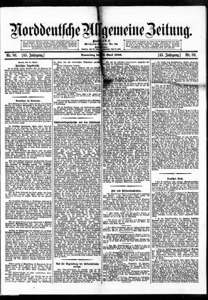 Norddeutsche allgemeine Zeitung vom 12.04.1906
