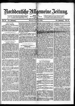 Norddeutsche allgemeine Zeitung vom 18.04.1906