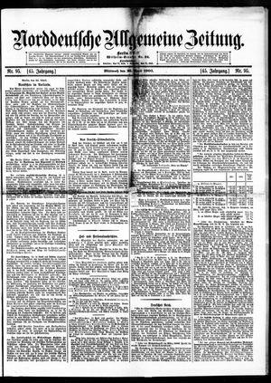 Norddeutsche allgemeine Zeitung vom 25.04.1906