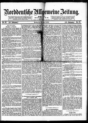 Norddeutsche allgemeine Zeitung on Apr 27, 1906