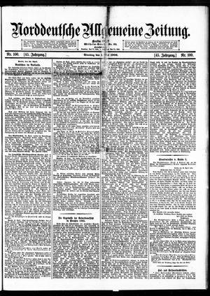 Norddeutsche allgemeine Zeitung vom 01.05.1906