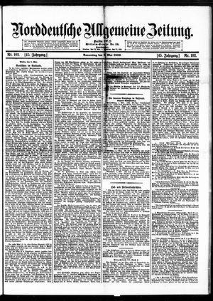 Norddeutsche allgemeine Zeitung vom 03.05.1906