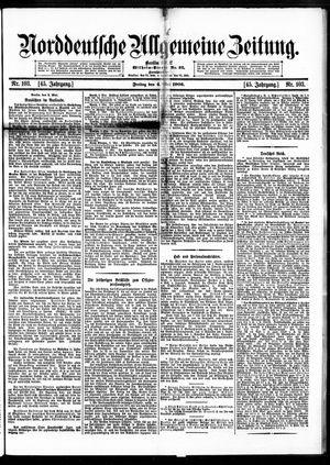 Norddeutsche allgemeine Zeitung vom 04.05.1906