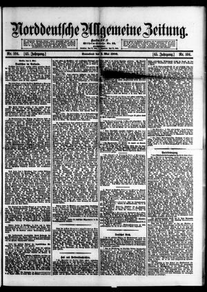 Norddeutsche allgemeine Zeitung vom 05.05.1906