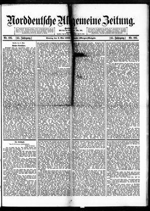 Norddeutsche allgemeine Zeitung vom 06.05.1906