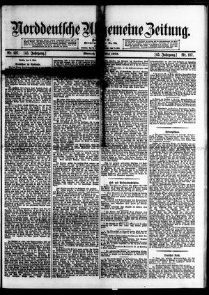 Norddeutsche allgemeine Zeitung vom 09.05.1906