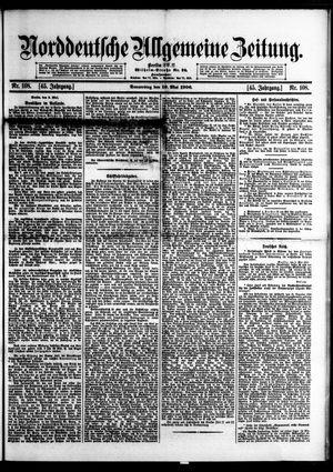 Norddeutsche allgemeine Zeitung vom 10.05.1906
