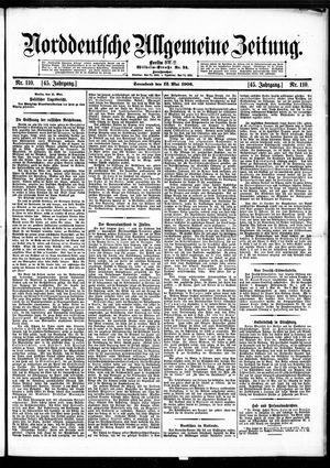 Norddeutsche allgemeine Zeitung vom 12.05.1906
