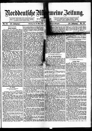 Norddeutsche allgemeine Zeitung vom 13.05.1906