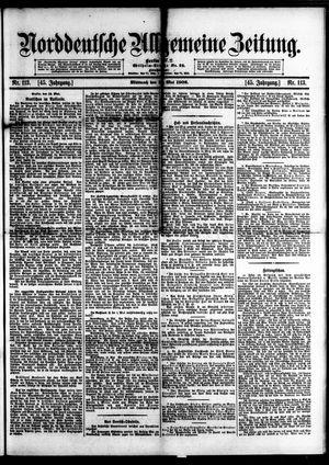 Norddeutsche allgemeine Zeitung vom 16.05.1906