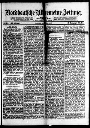 Norddeutsche allgemeine Zeitung vom 17.05.1906