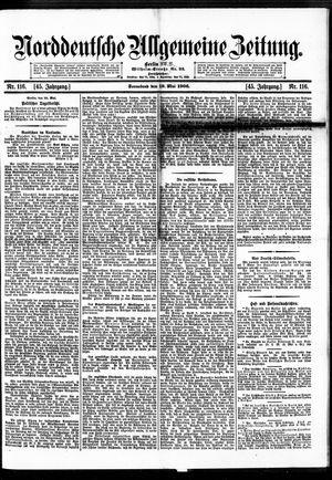 Norddeutsche allgemeine Zeitung vom 19.05.1906