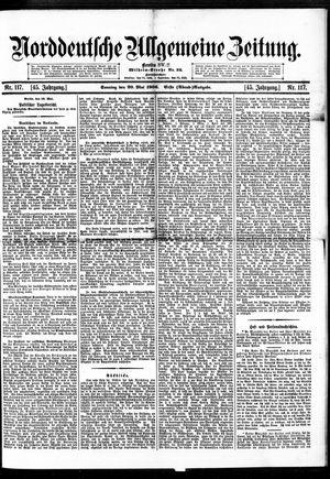 Norddeutsche allgemeine Zeitung vom 20.05.1906