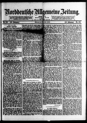 Norddeutsche allgemeine Zeitung on May 23, 1906