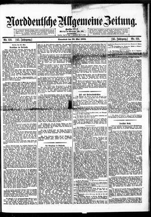 Norddeutsche allgemeine Zeitung vom 26.05.1906