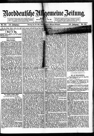 Norddeutsche allgemeine Zeitung vom 27.05.1906