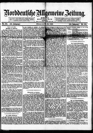 Norddeutsche allgemeine Zeitung on May 30, 1906