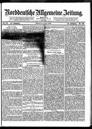 Norddeutsche allgemeine Zeitung vom 06.06.1906