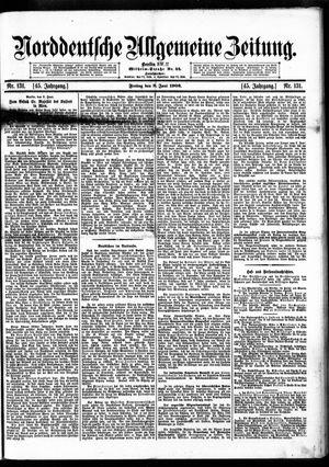 Norddeutsche allgemeine Zeitung vom 08.06.1906