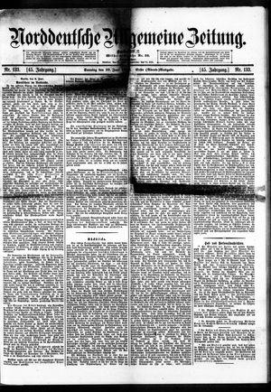 Norddeutsche allgemeine Zeitung vom 10.06.1906