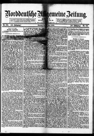 Norddeutsche allgemeine Zeitung on Jun 12, 1906