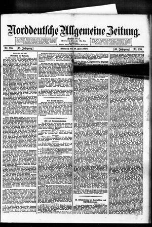 Norddeutsche allgemeine Zeitung vom 13.06.1906