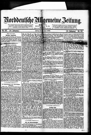Norddeutsche allgemeine Zeitung vom 15.06.1906