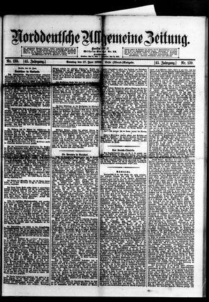 Norddeutsche allgemeine Zeitung vom 17.06.1906