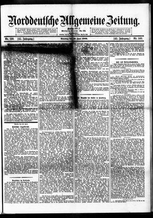 Norddeutsche allgemeine Zeitung vom 19.06.1906