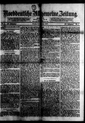 Norddeutsche allgemeine Zeitung vom 01.01.1907