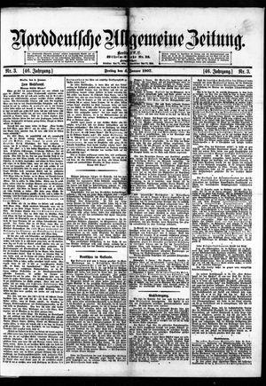 Norddeutsche allgemeine Zeitung vom 04.01.1907