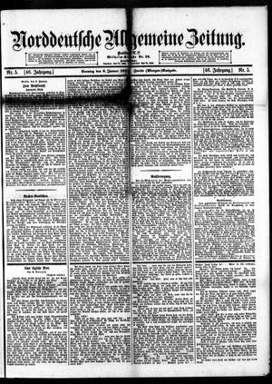 Norddeutsche allgemeine Zeitung vom 06.01.1907