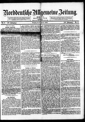 Norddeutsche allgemeine Zeitung vom 08.01.1907