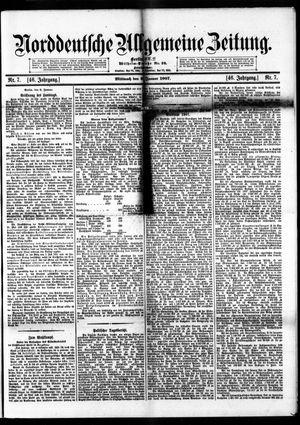 Norddeutsche allgemeine Zeitung vom 09.01.1907