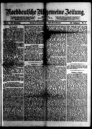 Norddeutsche allgemeine Zeitung vom 13.01.1907