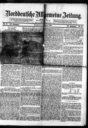 Norddeutsche allgemeine Zeitung vom 19.01.1907