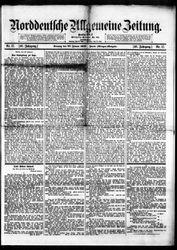 Norddeutsche allgemeine Zeitung (20.01.1907)