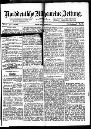 Norddeutsche allgemeine Zeitung vom 05.02.1907