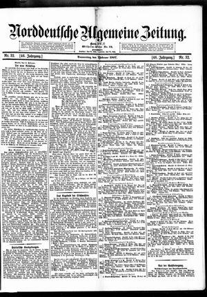 Norddeutsche allgemeine Zeitung vom 07.02.1907